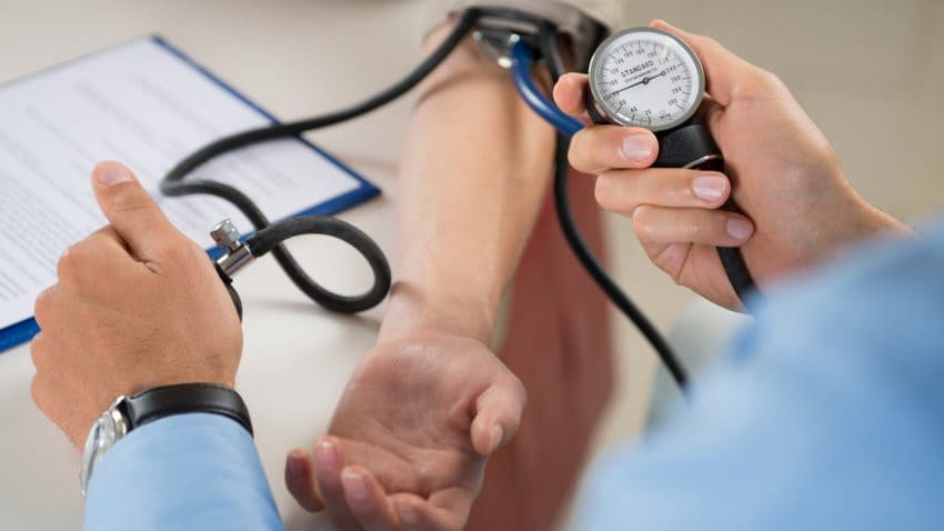Medical supplies article on blood pressure