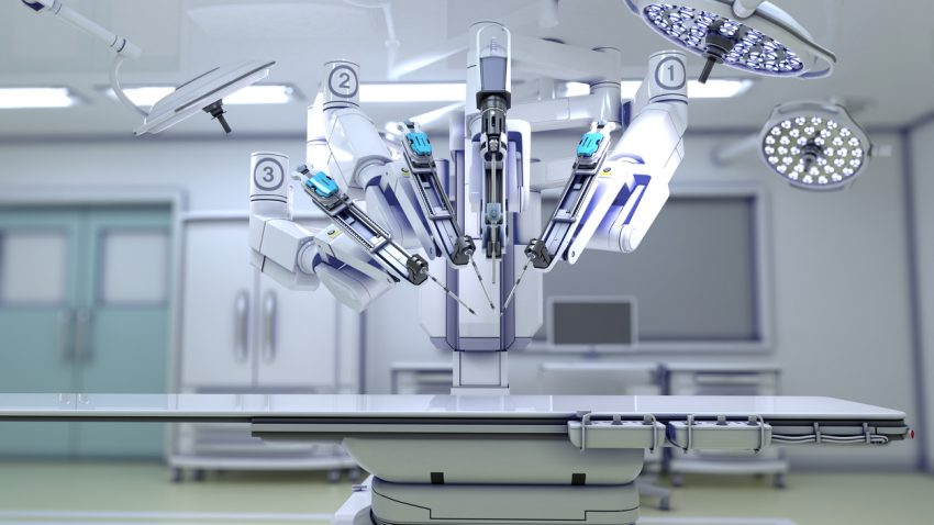 Surgical robot medical care trends