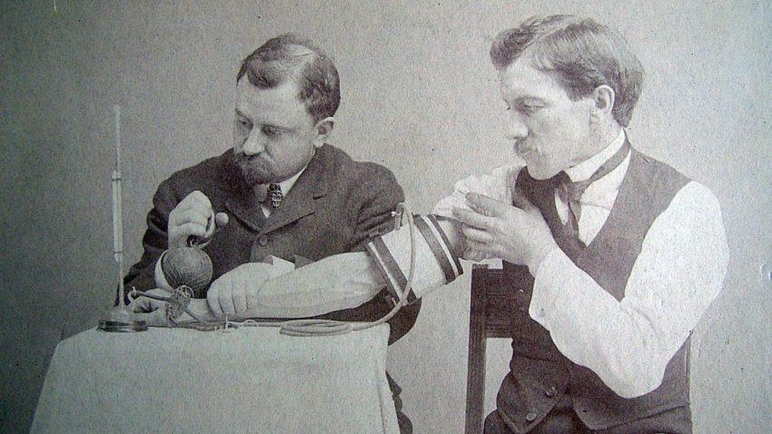 Samuel Siegfried Karl Ritter von Basch invented the first sphygmomanometer