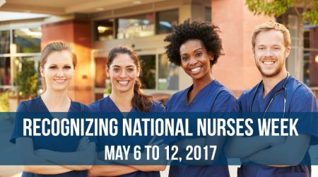 National Nurses Week May 6-12, 2017